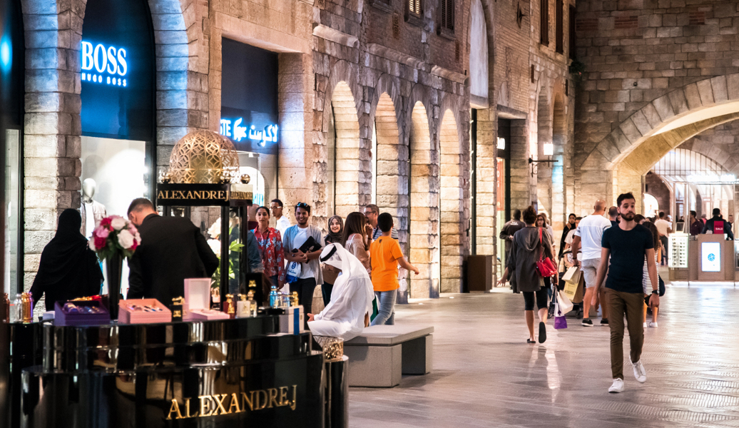 The Outlet Village Indoor Retail Project Dubai Meraas