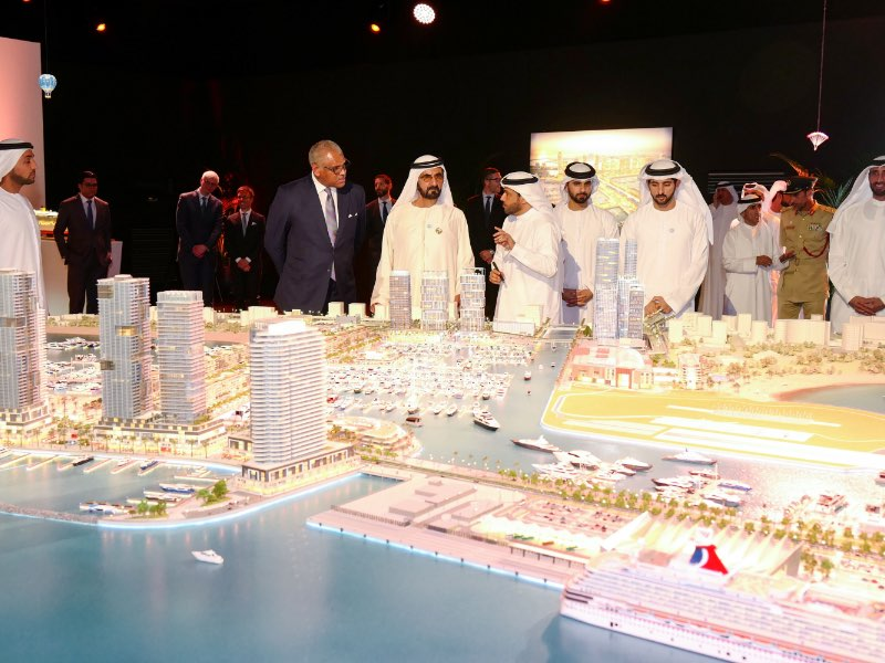 Mohammed bin Rashid approves 'Dubai Cruise Terminal' as the main hub for cruise tourism in Dubai