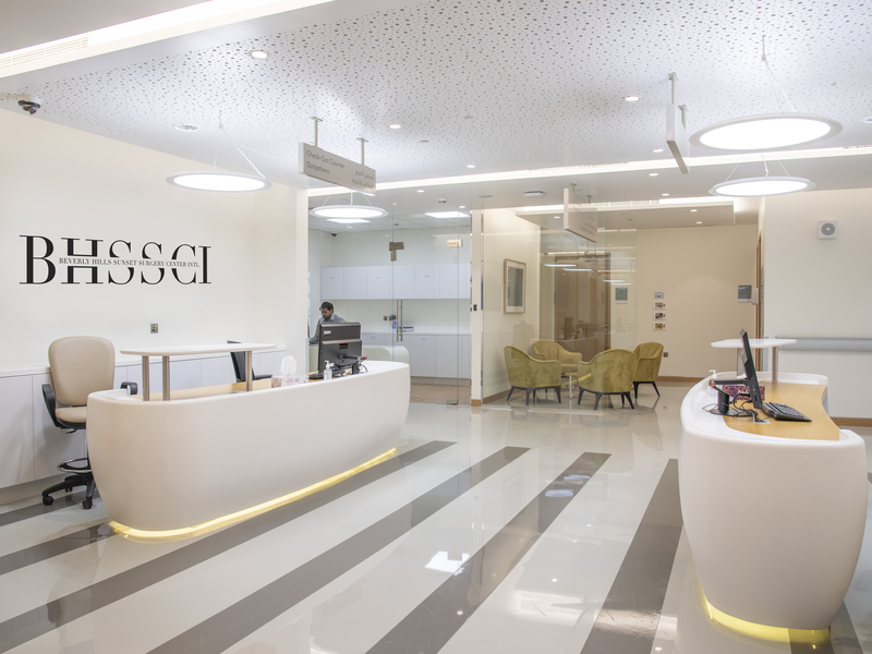 Beverly Hills Sunset Surgery Center International at Valiant Clinic, City Walk Dubai