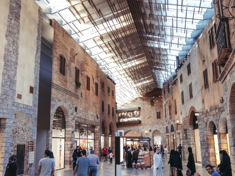 The Outlet Village spoils visitors for choice this DSF