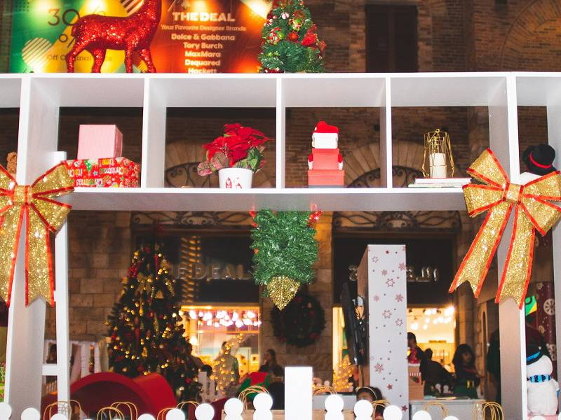 The Outlet Village continues to celebrate the festive season with a magical gifting journey