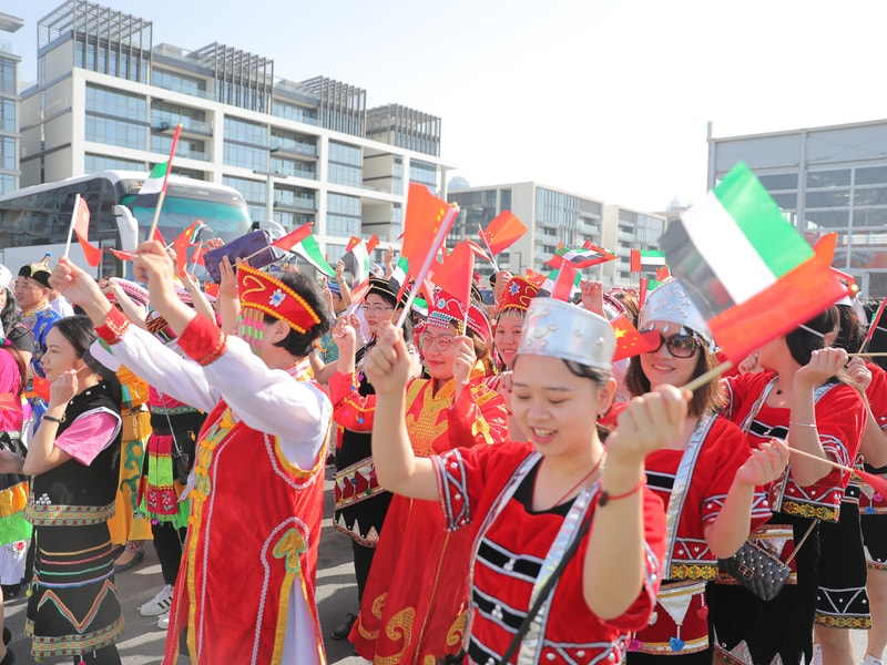 20,000-strong crowd attends Hala China Grand Parade at City Walk